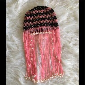 Crochet fancy cap for baby girls